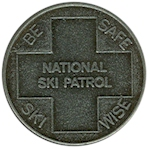 National Ski Patrol Medal Back